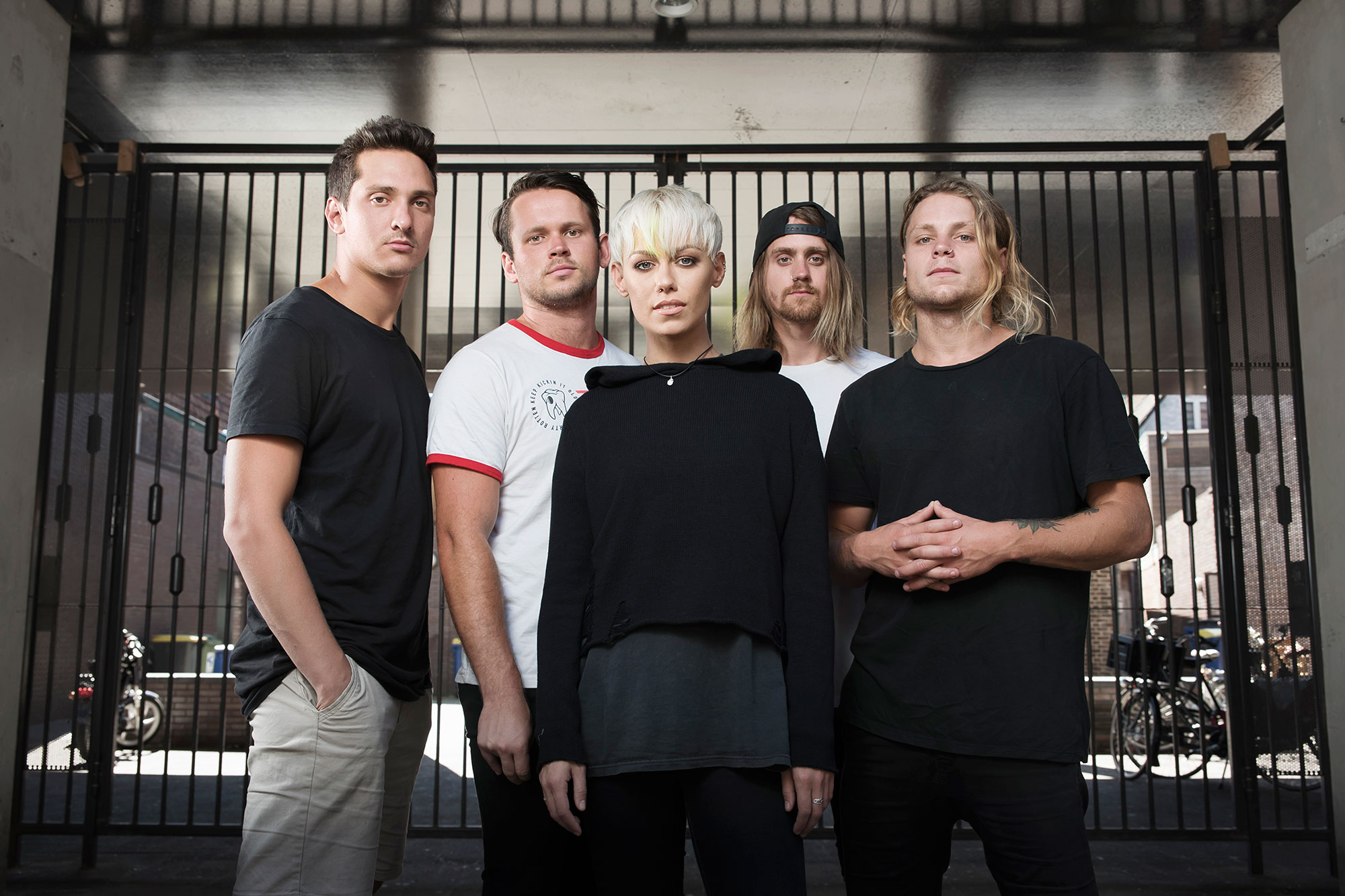 Tonight Alive, punkpop band uit Australie.