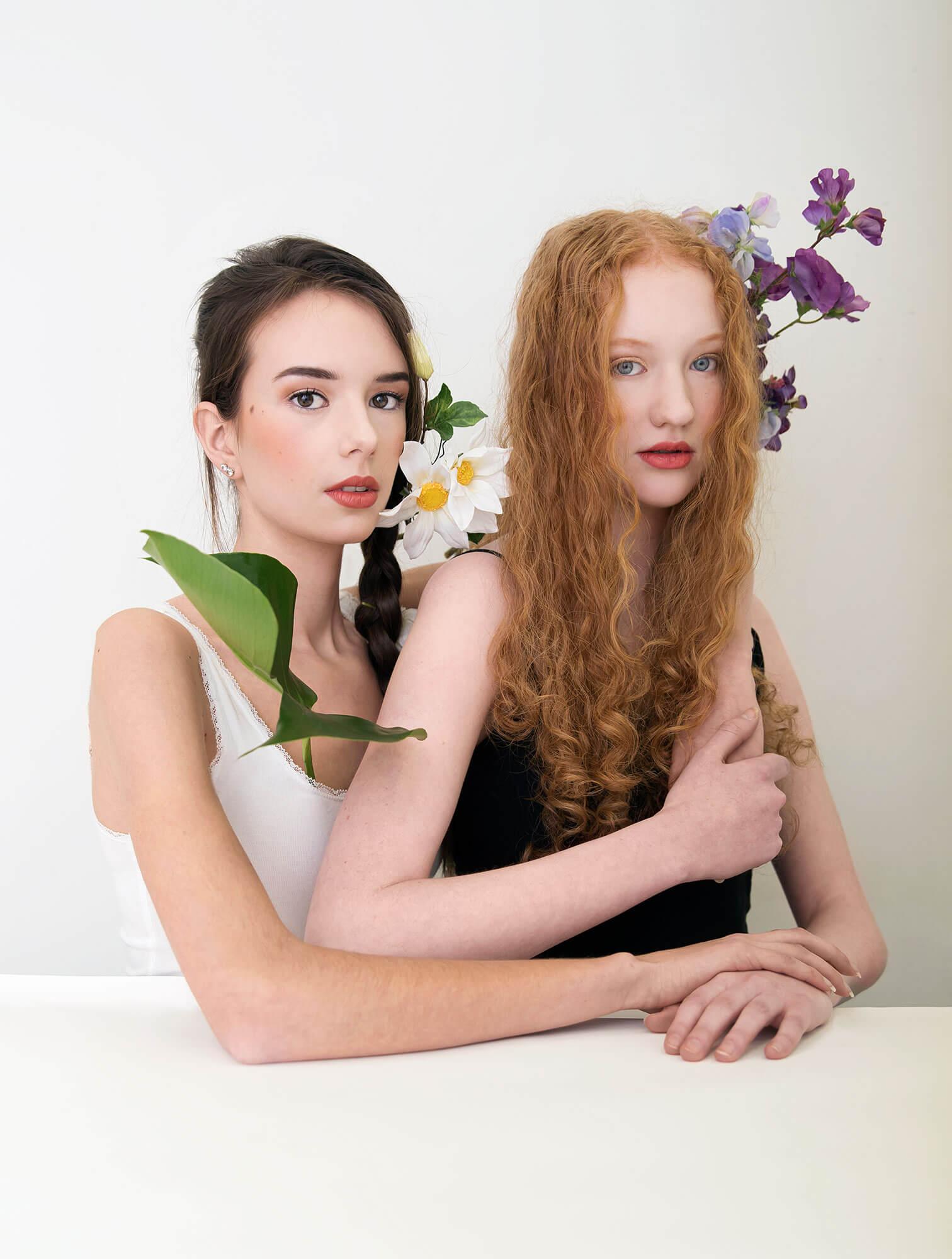 Isabel en Ruth Flowers 2.0 portret serie
