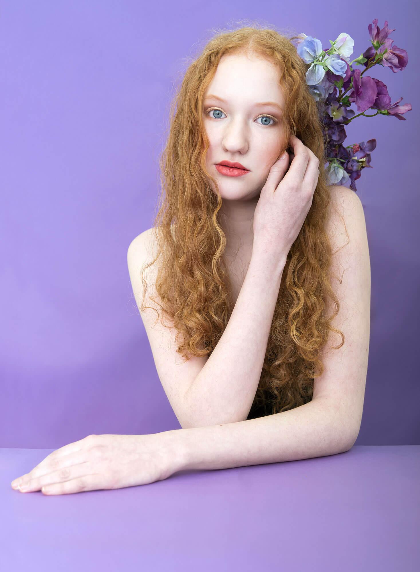 Ruth voor mijn serie Flowers 2.0