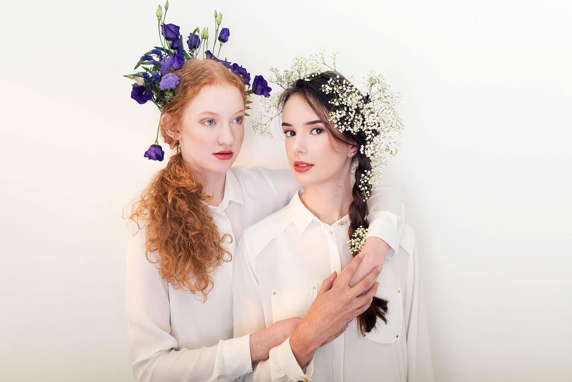 Isabel en Flowers 2.0 portret