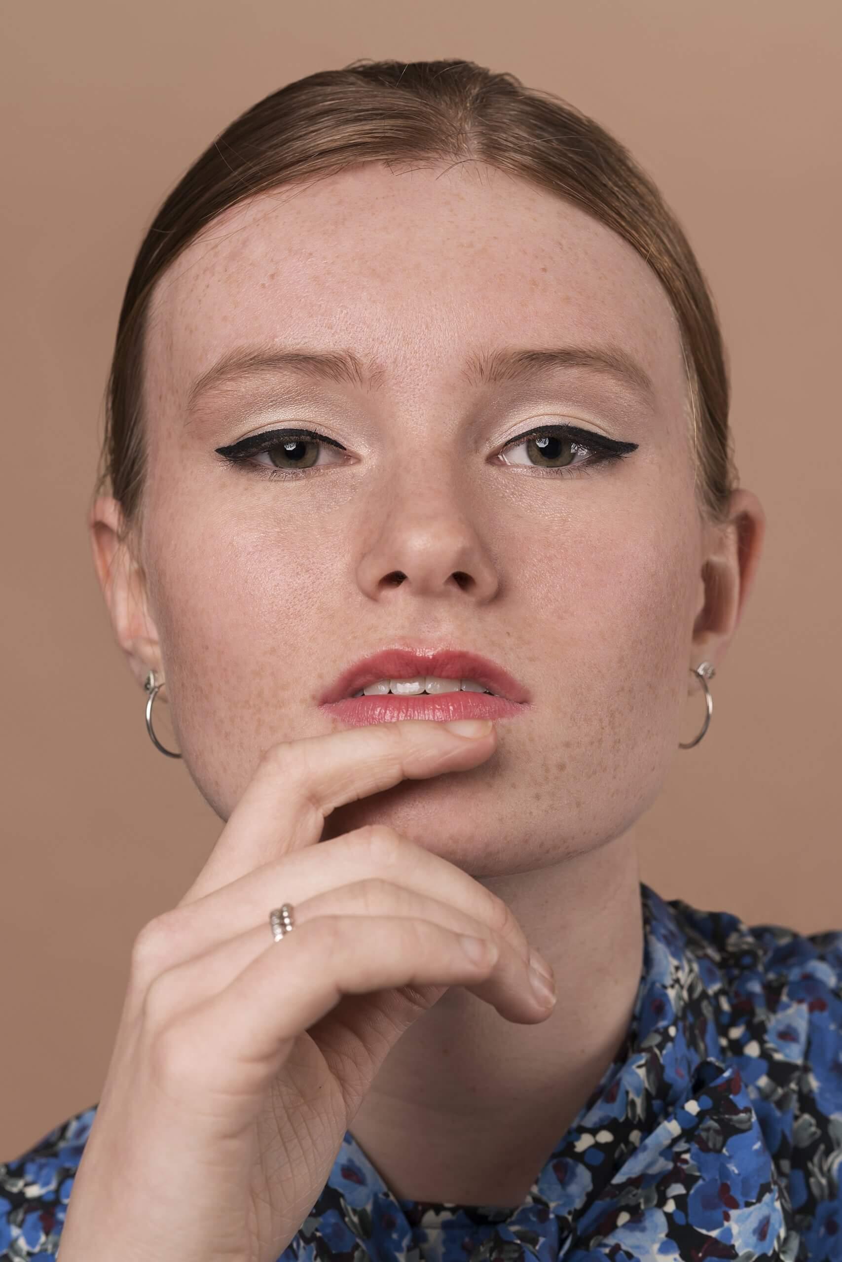Close Beauty Portret Maia