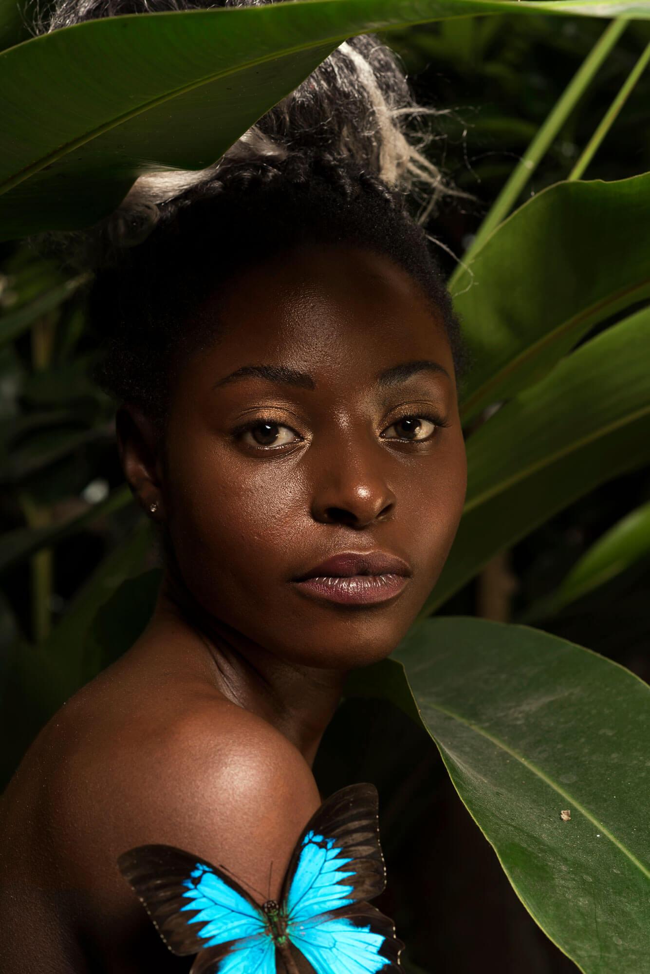 Beauty portret Germaine tropisch