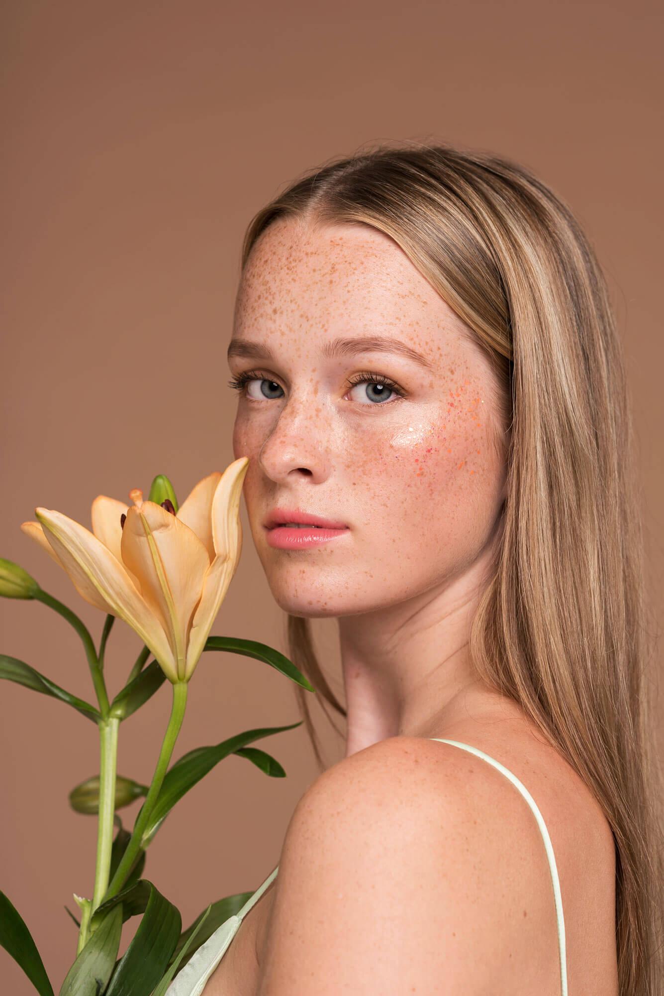 portret foto natuurlijke