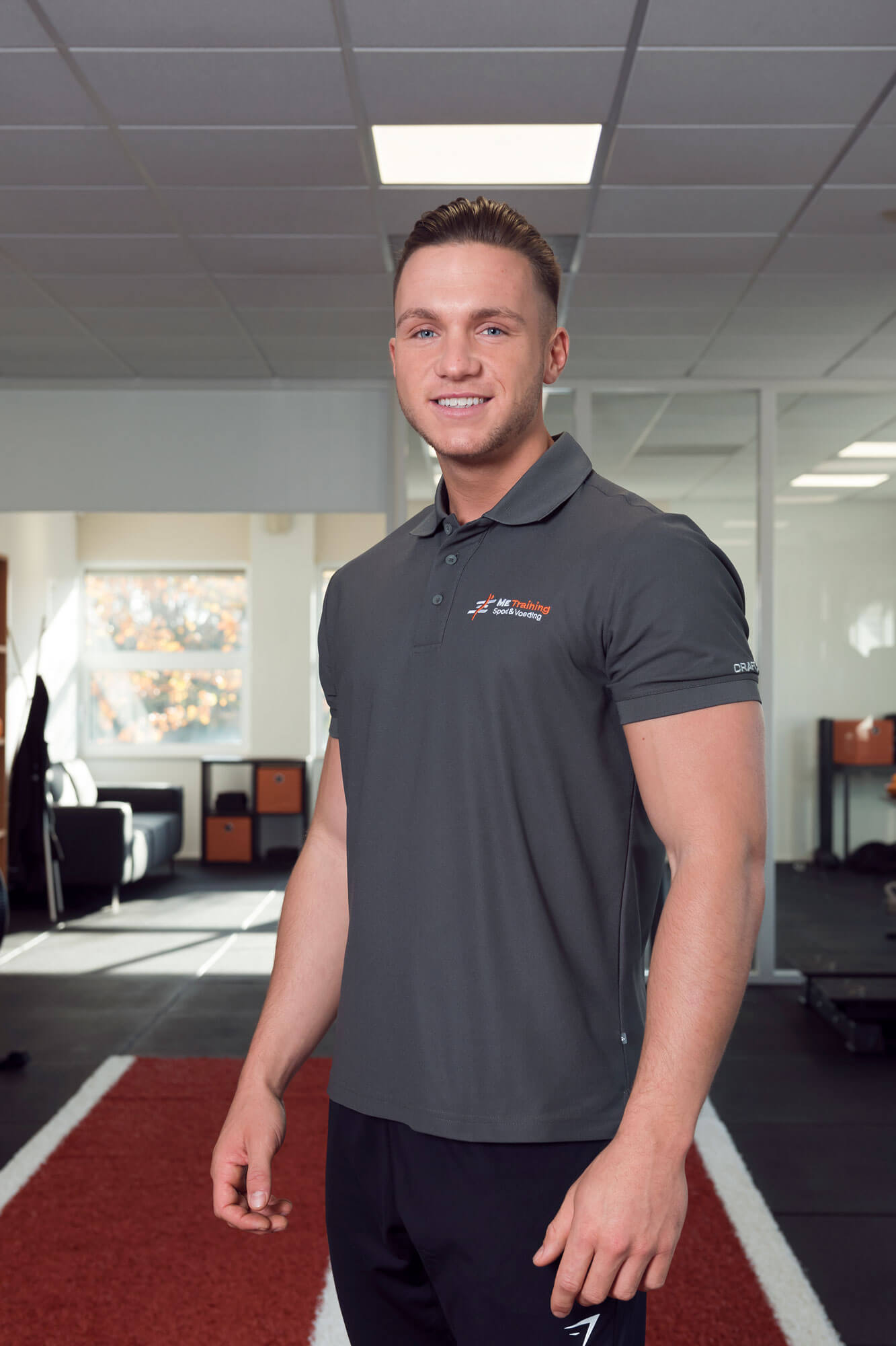 personal trainer portret