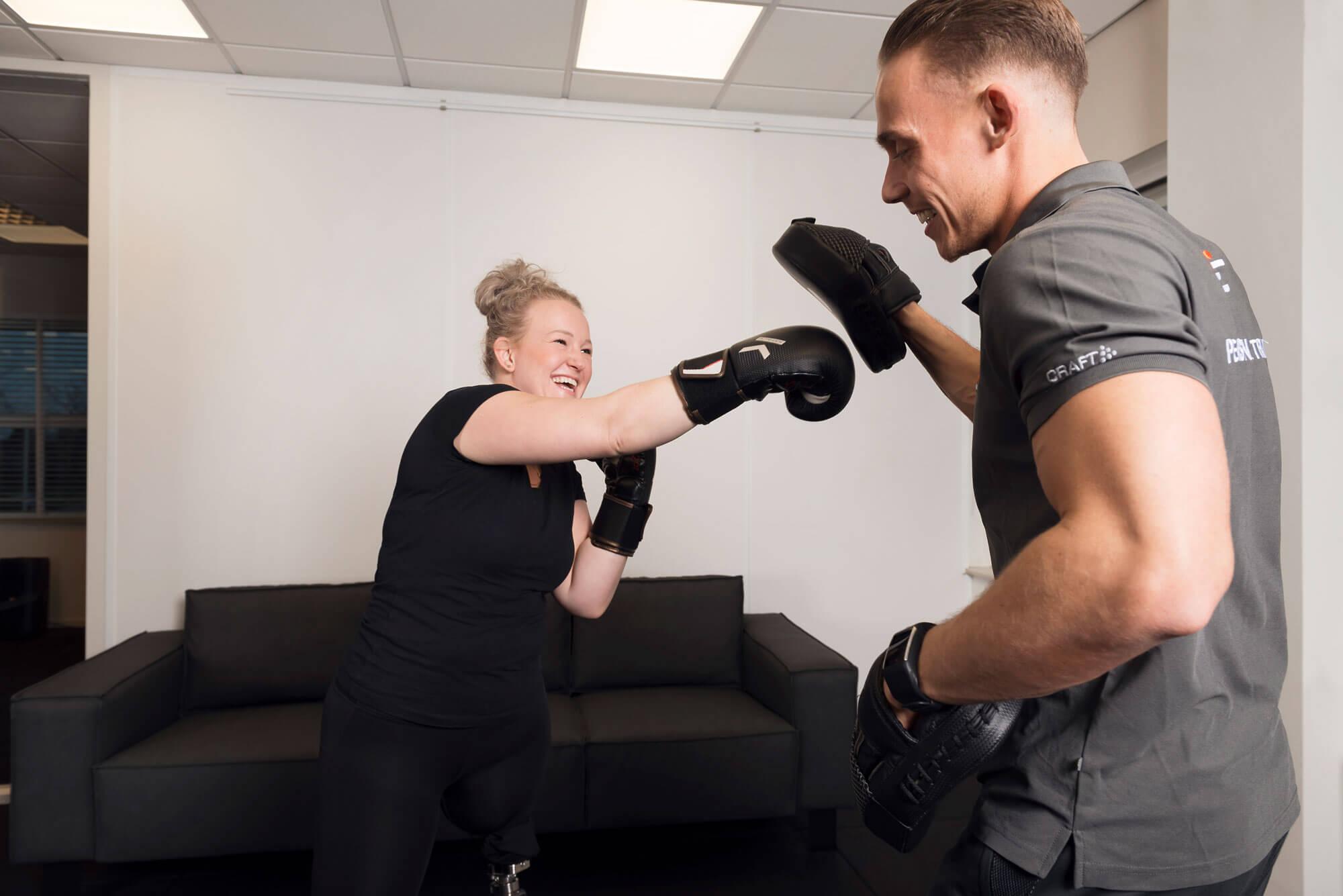 Boxen personal trainer