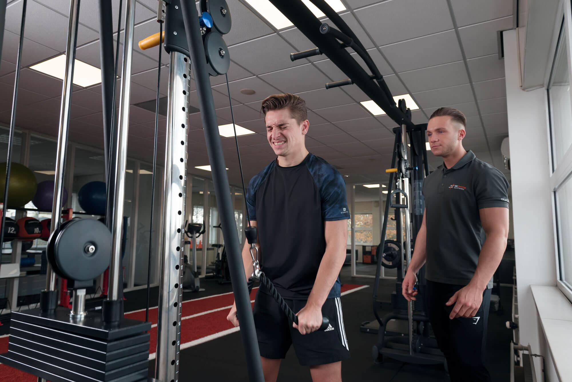 gewicht heffen, training sport